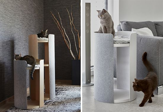 Breathtaking modern cat furniture from germany • hauspanther meubles de chat modernestrucs