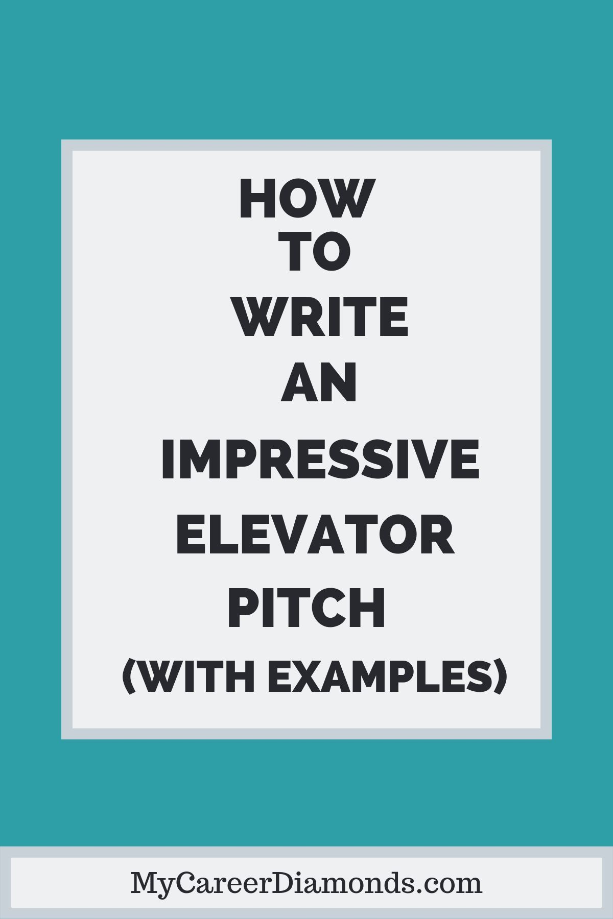 How To Write A Persuasive Elevator Pitch With Examples Career