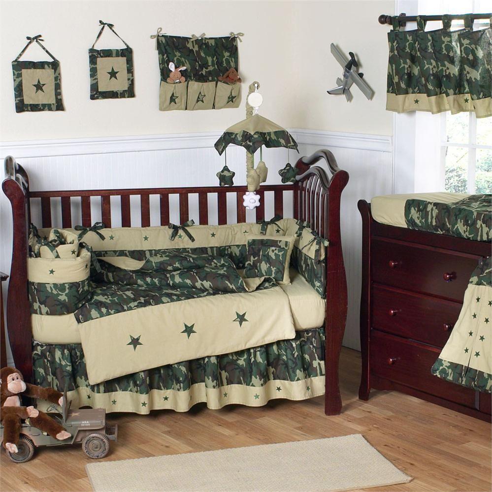 Military Nursery Crib Bedding Boy Camo Baby Stuff Camo Crib