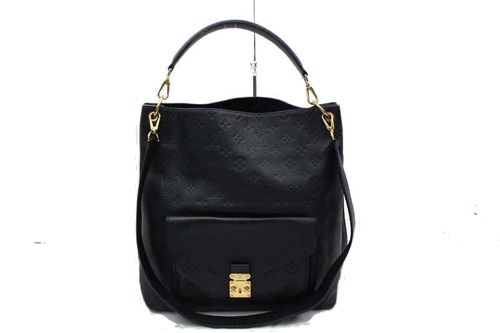 66fc8467cd Louis Vuitton Metis M40810 Monogram Empreinte Shoulder Bag ...