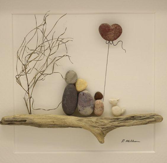 Decorare con i sassi 7 idee creative per decorare con i - Decorare i sassi ...