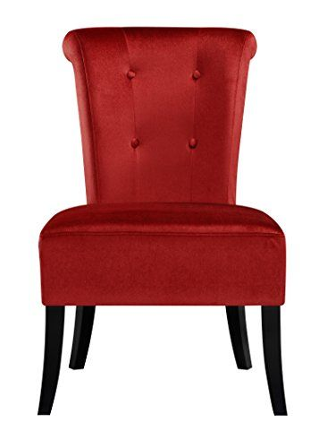 Pulaski Upholstered Dining Chair In Carolina Crimson, Red... $129
