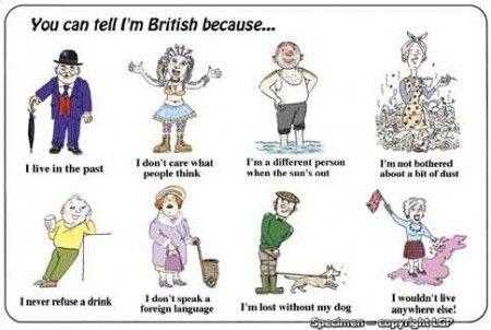 Stereotypes Anglais Francaisx Francais Anglais Enseigner L Anglais Humour