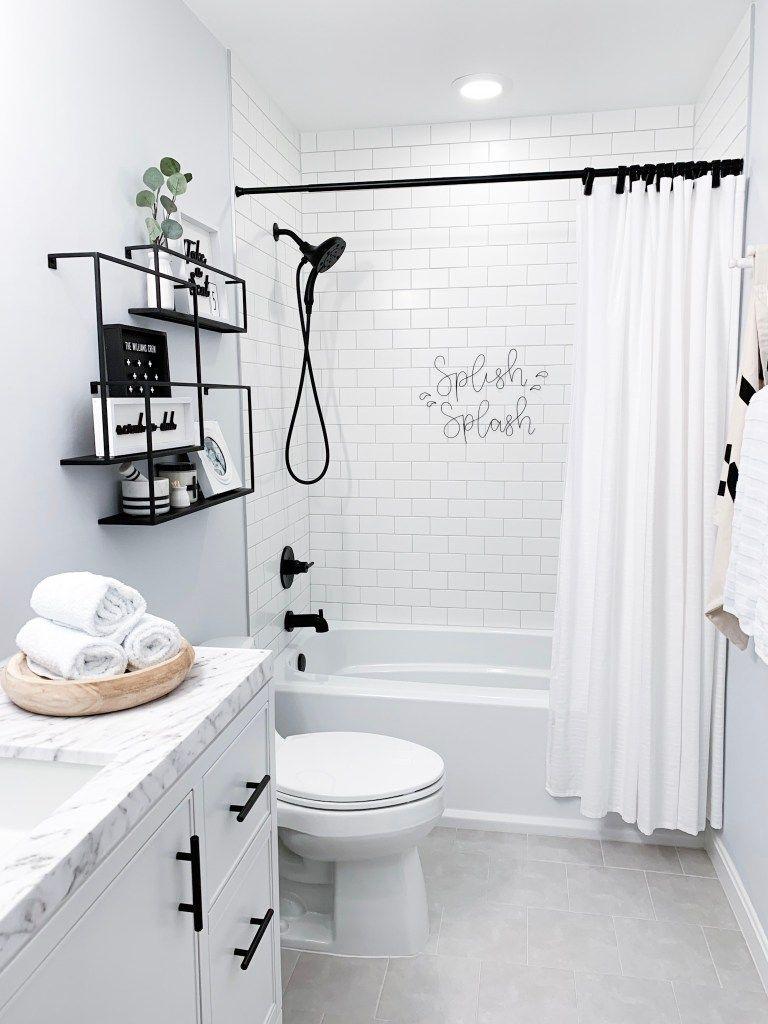 Hallway Bathroom Facelift - Champagne Chaos