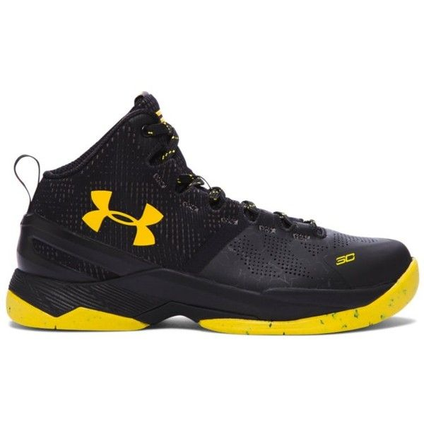 6f6bef1ec349 Under Armour Grade School UA Curry Two Basketball Shoes ( 100) ❤ liked on  Polyvore featuring men s fashion