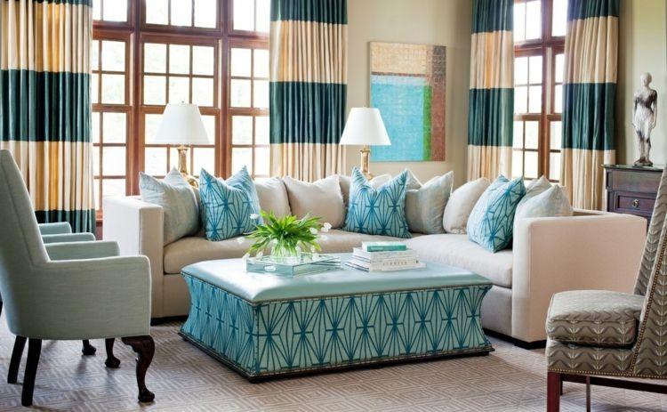 Wohnzimmer Gardinen und Vorhänge \u2013 26 Ideen für unterschiedliche - gardinen fürs wohnzimmer
