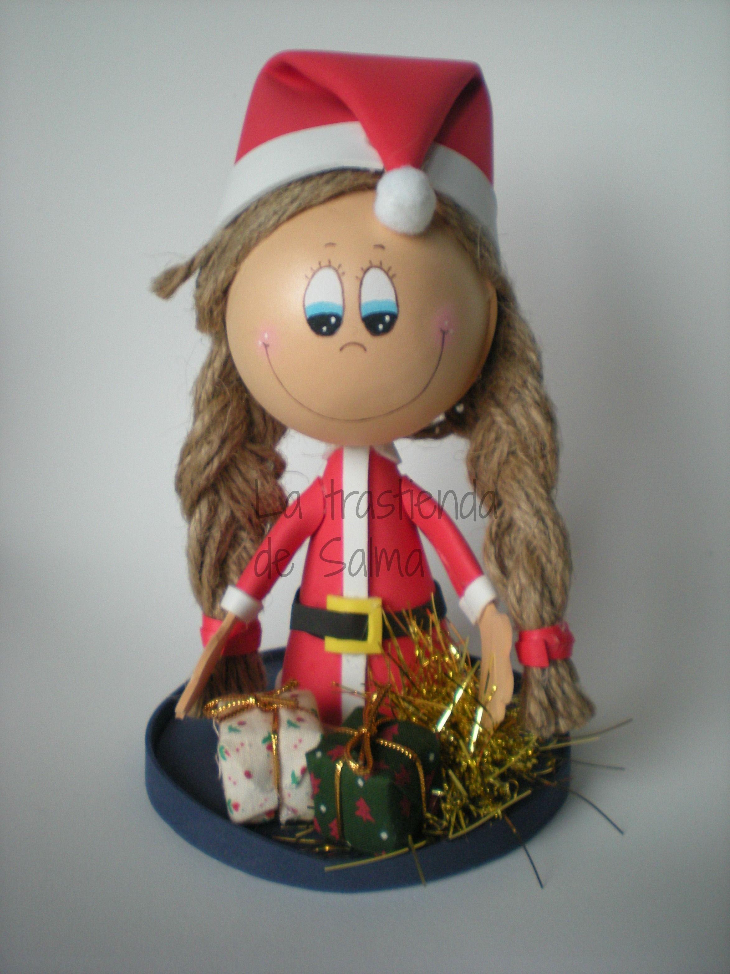 fofucha con adornos navideos tamao cm precio euros gastos de envio gratis