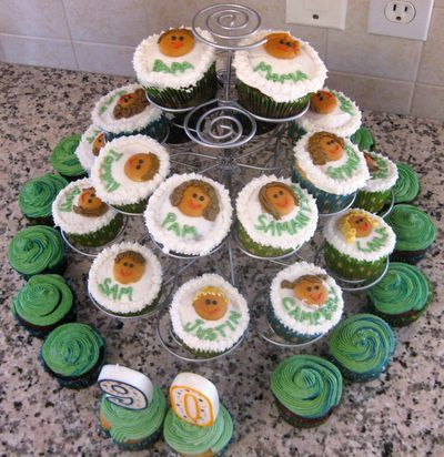 Family Tree cupcakes made by my mother