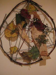 Our Island Home: Autumn Nature Crafts - Bricolages d'automne