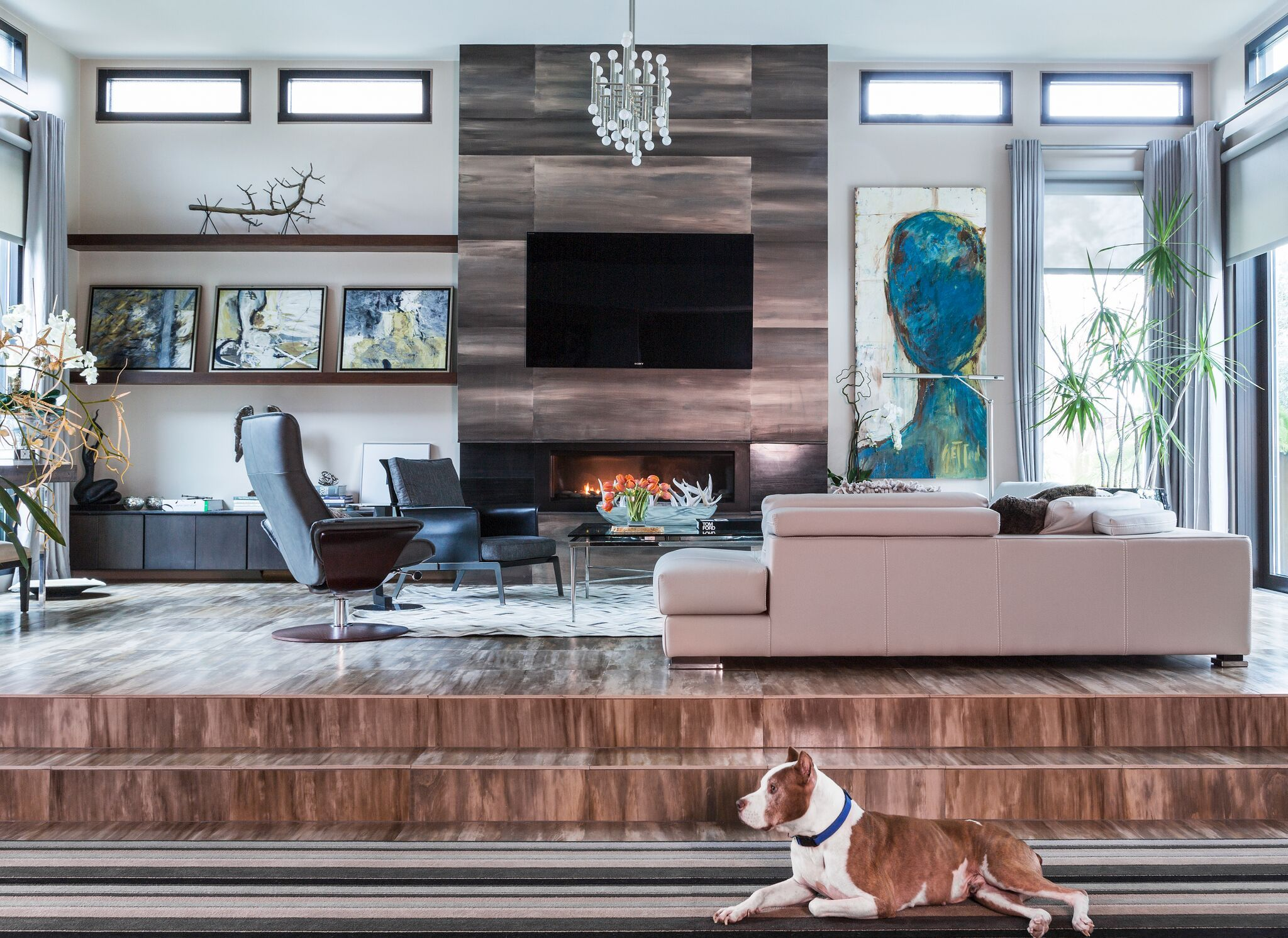 From Dog Decor By Sara Essex Bradley, Home Of Designer Donna Russell,  Styled By