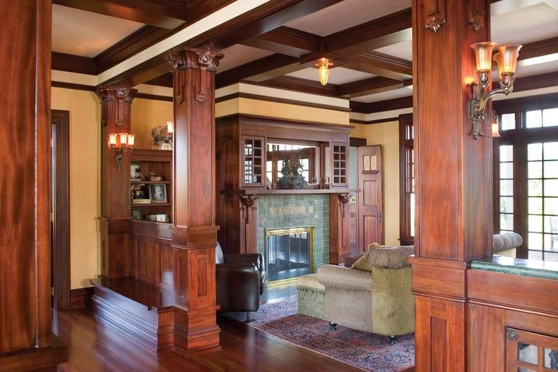 Plan 2418 The Parnell Family Room Colonial Style Homes