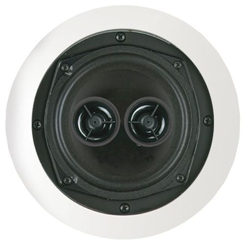 """Bic America 5.25"""" Dual Voice-coil Stereo Ceiling Speaker"""