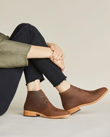 a331f07a16489 Women's Chukka Boots | Handmade Leather Boots | Nisolo | wear ...