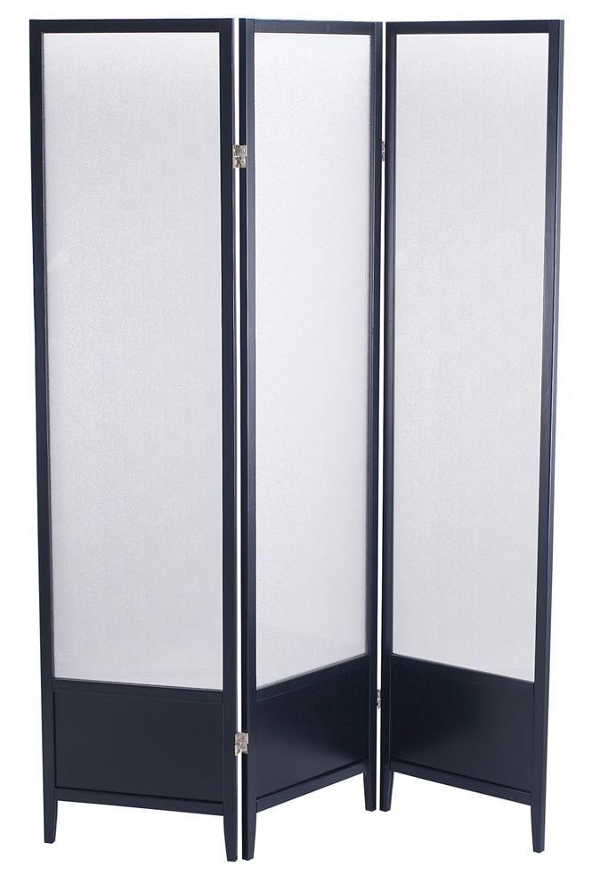 Folding Plexiglass Panel Room Divider, Solid Wood Frame | sliding ...