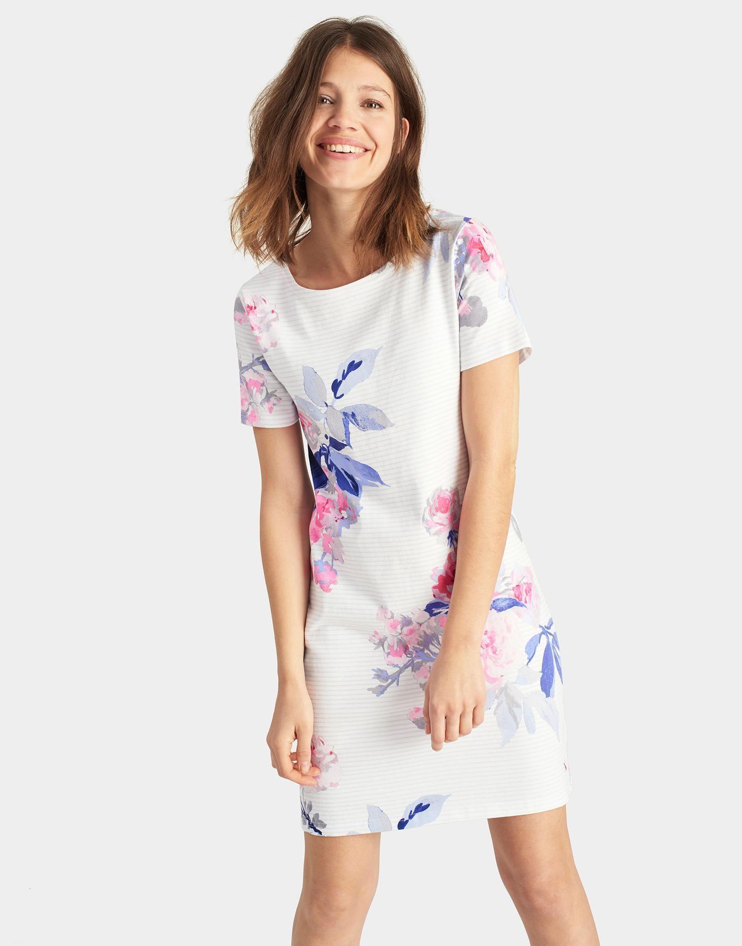 9d8252df64ced RIVIERA Printed Jersey T-Shirt Dress | Clo | Dresses, Shirt dress ...