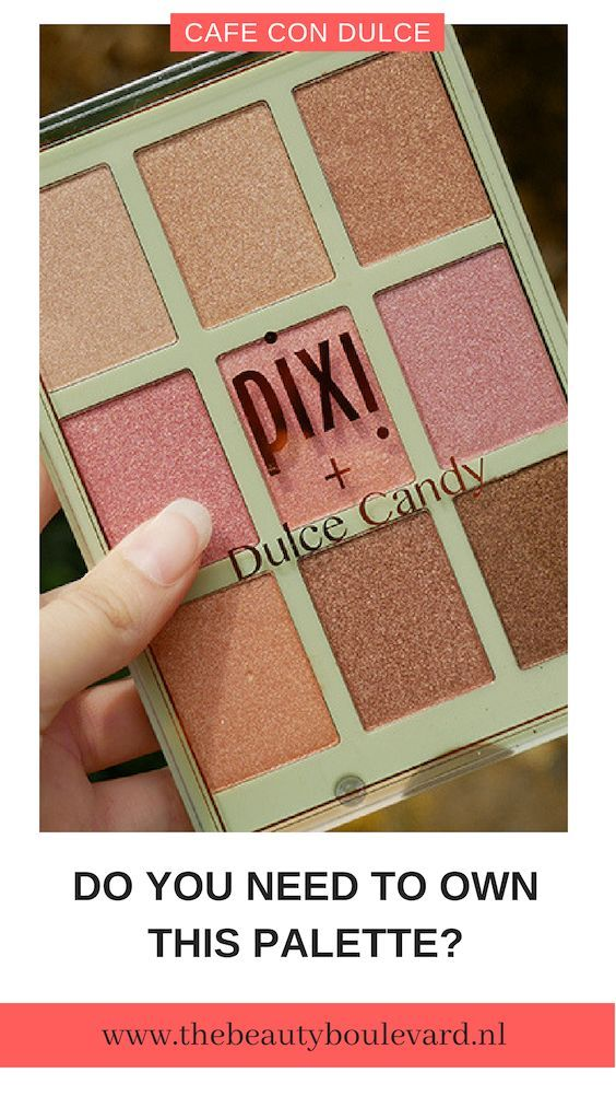 Café con Dulce palette from Pixi Beauty (With images