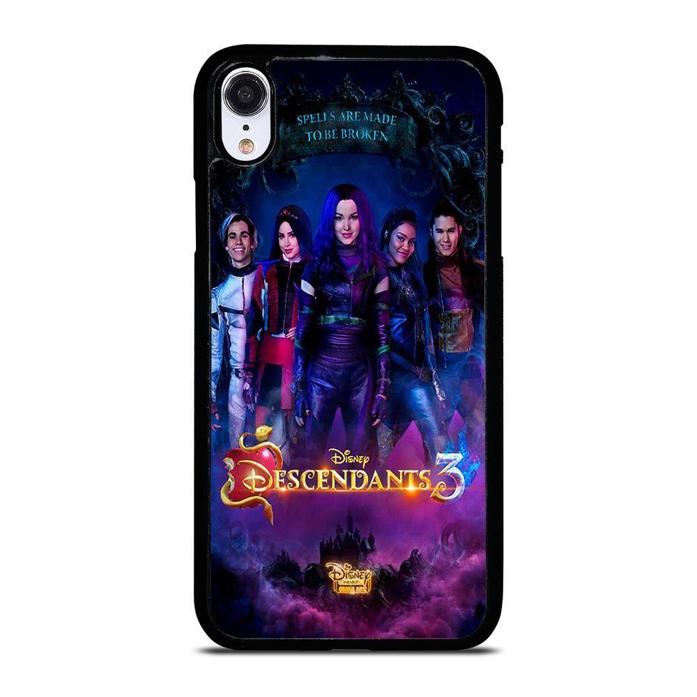 Descendants 3 disney iphone xr case cover casesummer