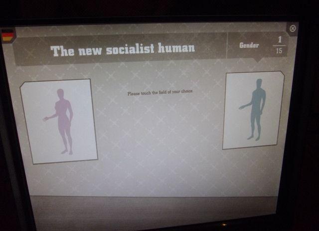 New Socialist Man display 2 DDR Museum Berlin marts 2012 101 by Martinsmuseumsblog, via Flickr