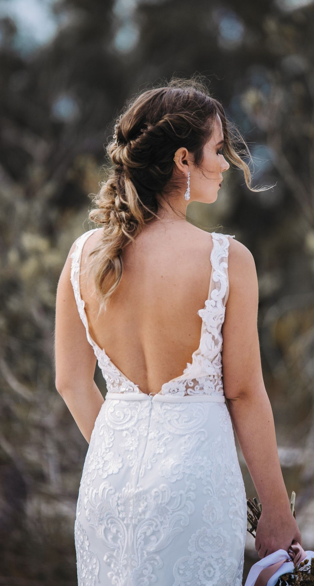 Nature wedding dress  Hailey Bridal Gown Exclusive Luxe Collection  Bridetobe