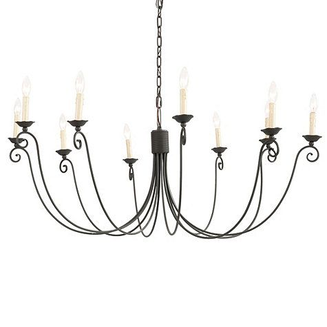 Cosette 10 Light Chandelier The Larger Option 480 400 Watts Would Use
