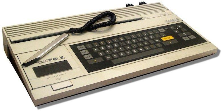 thomson to7 1984 vieux ordinateurs ordinateur informatique pinterest