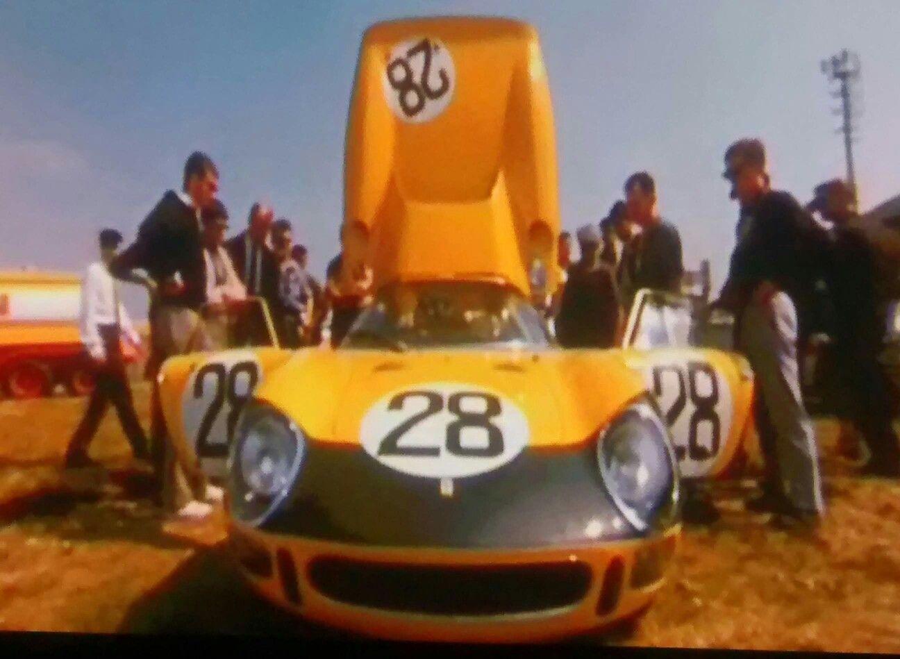 1966 Le Mans 24 hours race 28 Ferrari 275LM, entered by