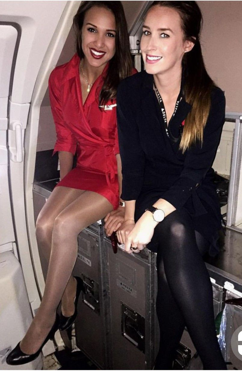pantyhose Flight attedant
