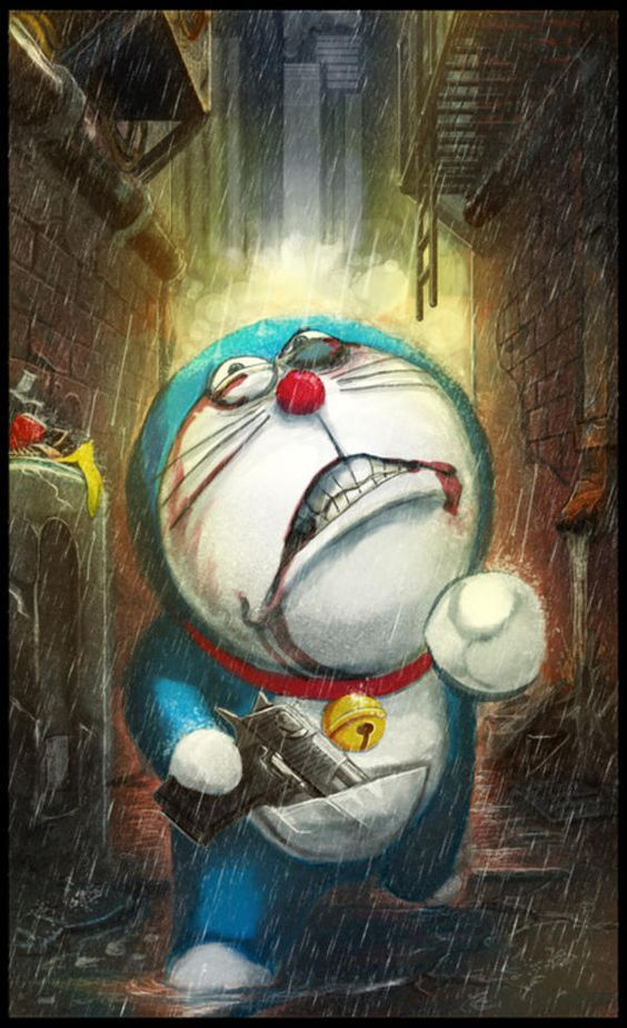 Gambar Wallpaper Doraemon Seram Walaupun Awalnya Mereka Sering Berkelahi Namun Pada Akhirnya Persaha Anime Wallpaper Cool Anime Wallpapers Doraemon Wallpapers