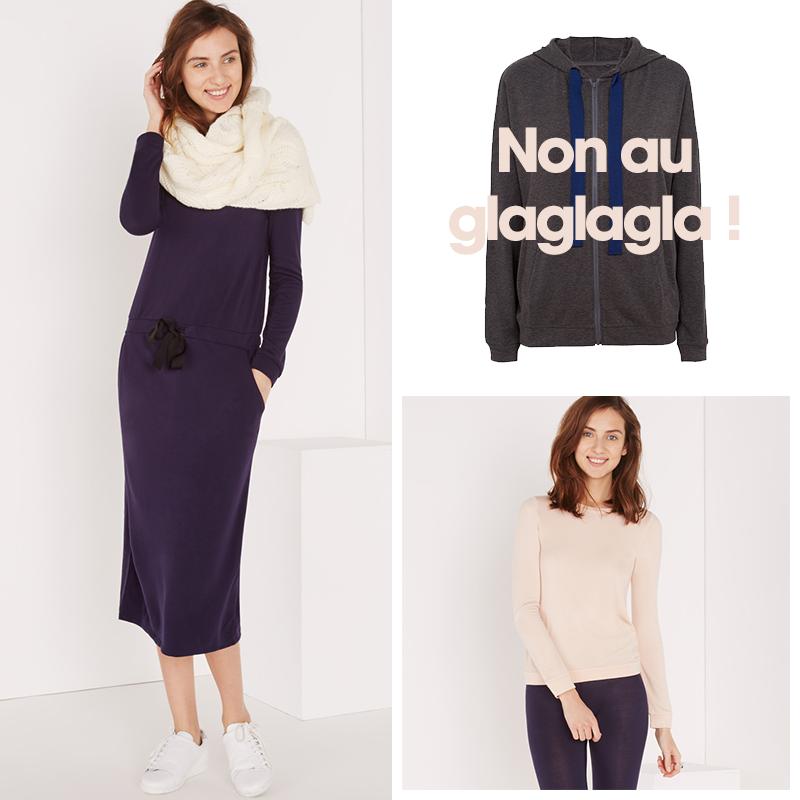Loungewear et Innerwear Heattech : http://www.princessetamtam.com/
