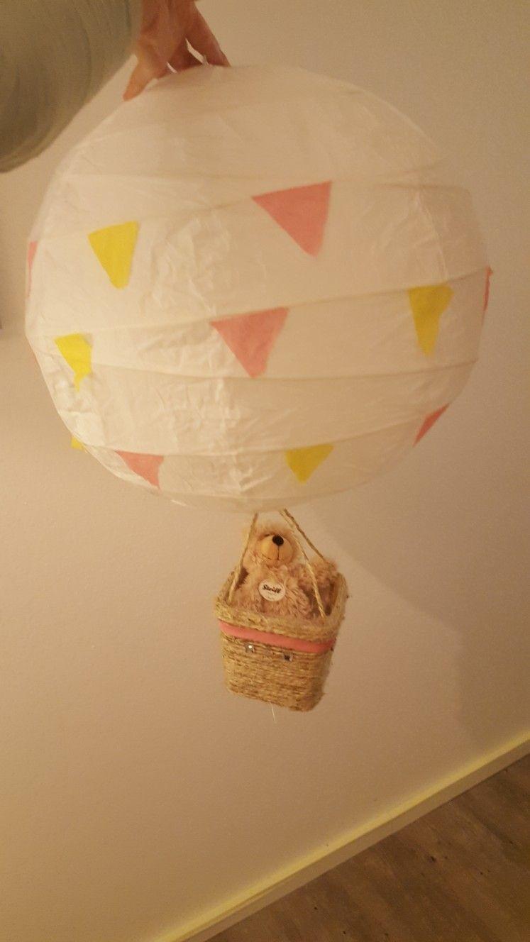 Kinderzimmer Lampe Ikea Heissluftballon Diy Ikea Lampen