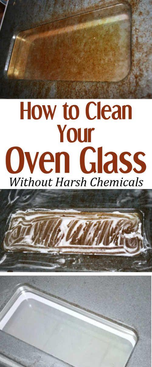 how to clean oven glass | cleaning | schoonmaaktips, huishoudtips
