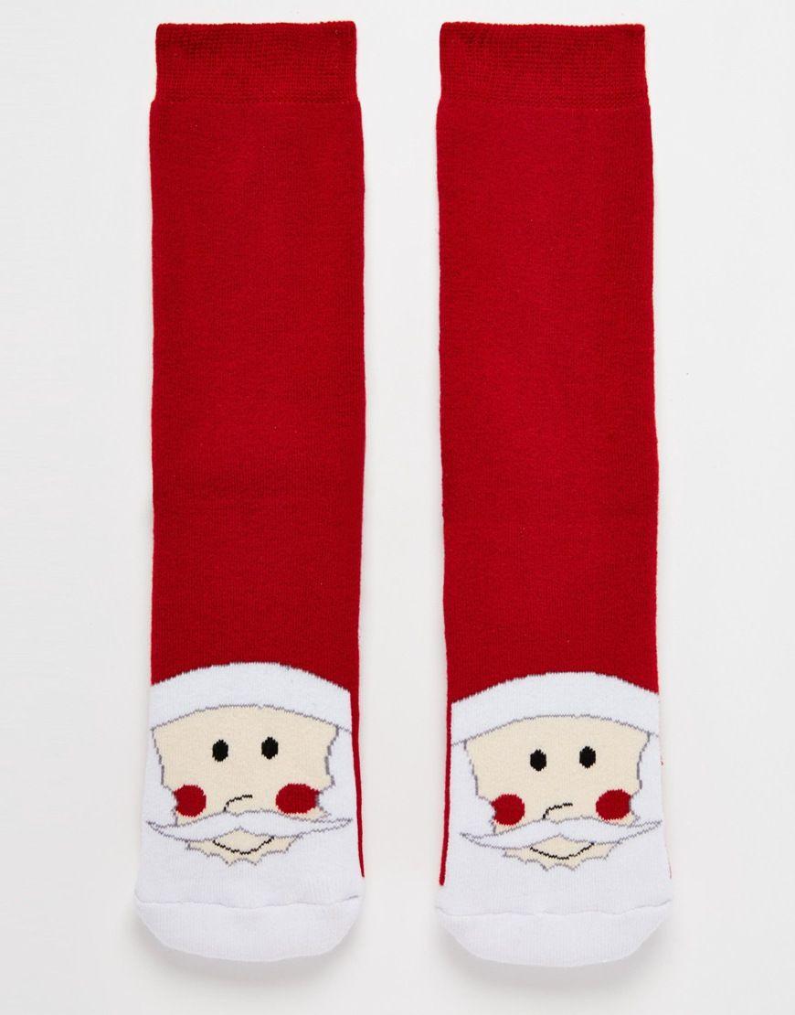 Bild 1 von Urban Eccentric – Christmas Santa – Slipper-Socken