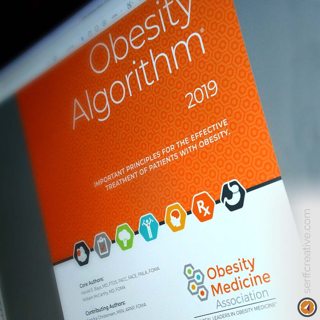 A Recent Ebook Project For A National Medical Organization Obesity Medicine Association Oma A Amazing Resource For The In Medical Design Algorithm Medicine