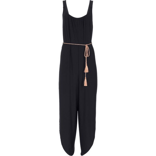 b7f022340590e Venus Women s Plus Size Belted Jumpsuit Jumpsuits   Rompers ( 54) ❤ liked  on Polyvore