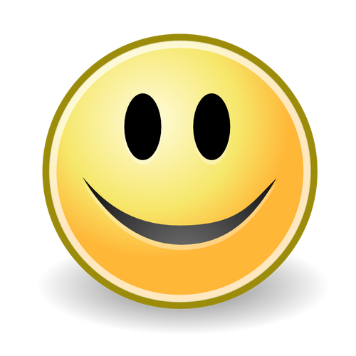 Smiley Face Icon Vector Image Face Icon Smiley Face Icons Happy Moments