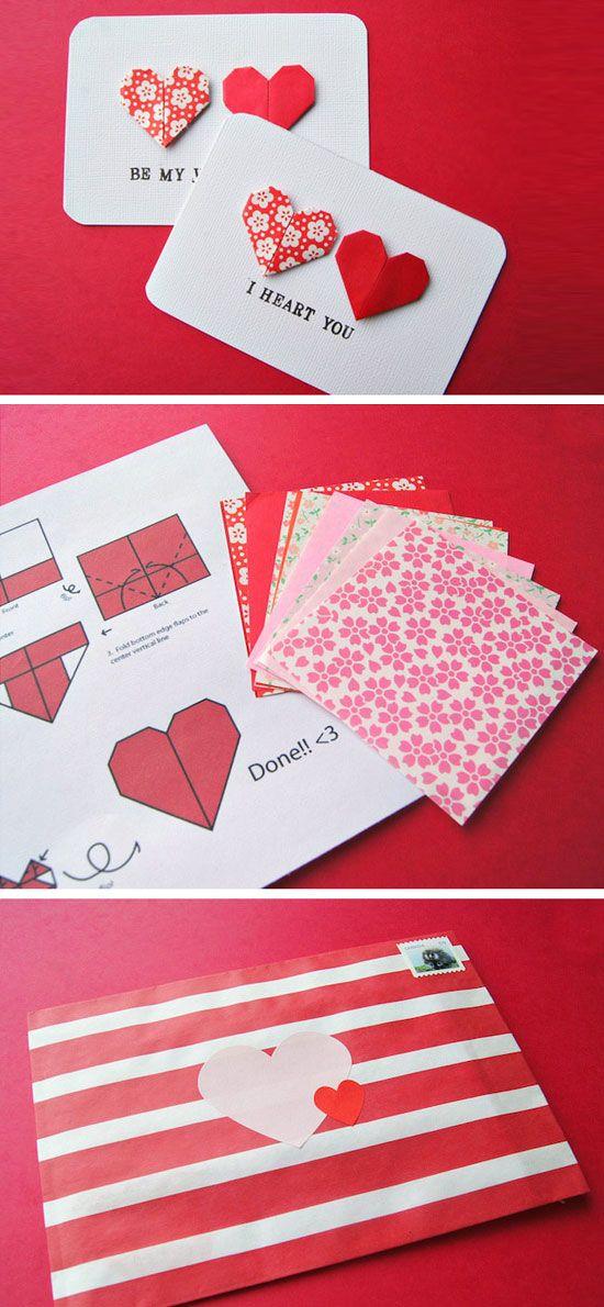 27 Diy Valentines Cards For Him Valentine S Pinterest