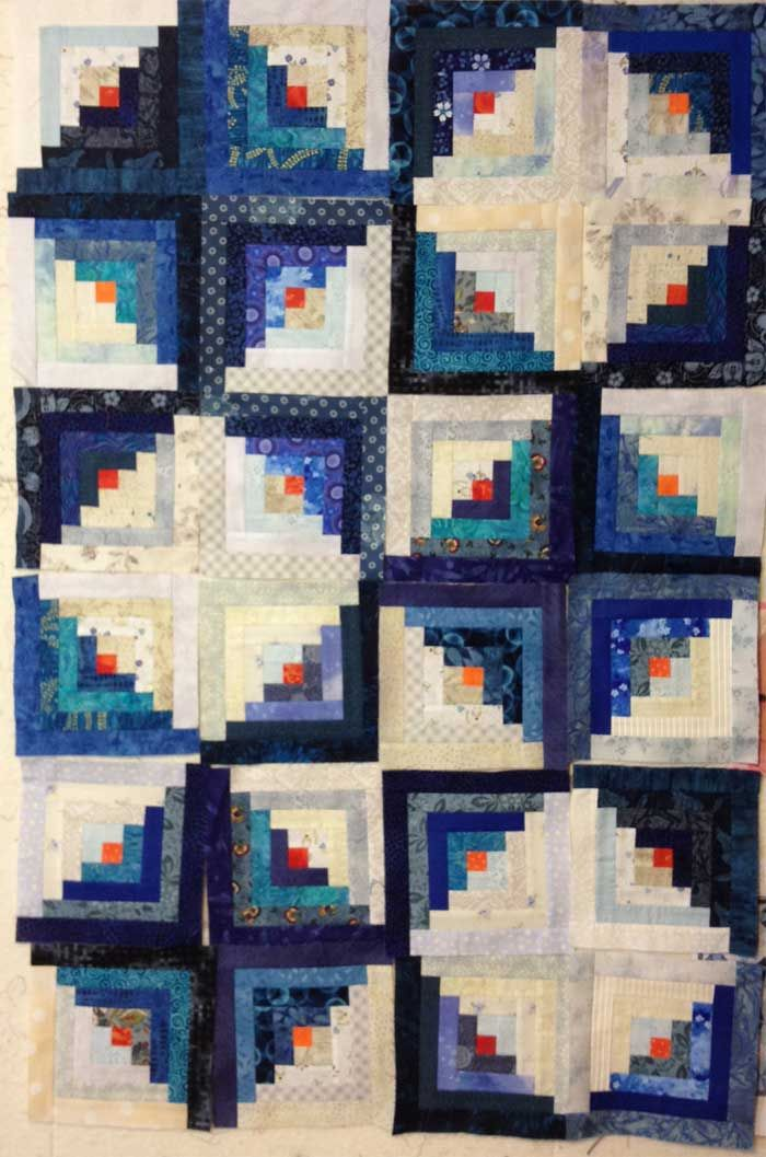 Log Cabin Quilt Layout Quilty Inspiration Quilts Log