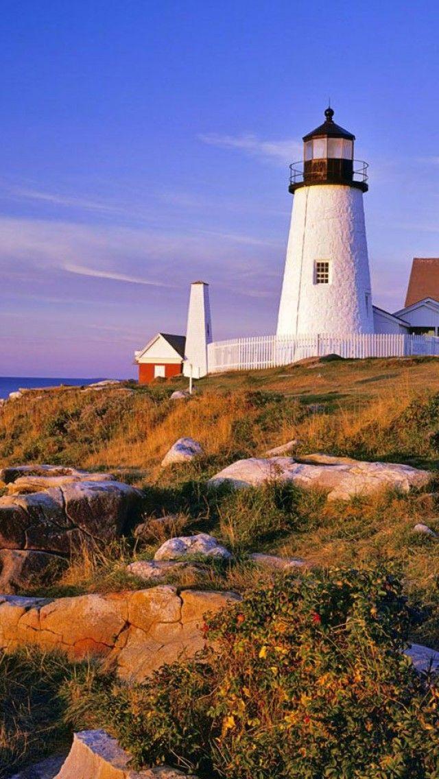 Delightful Pemaquid Point Light Station, Bristol, Maine, USA Awesome Design
