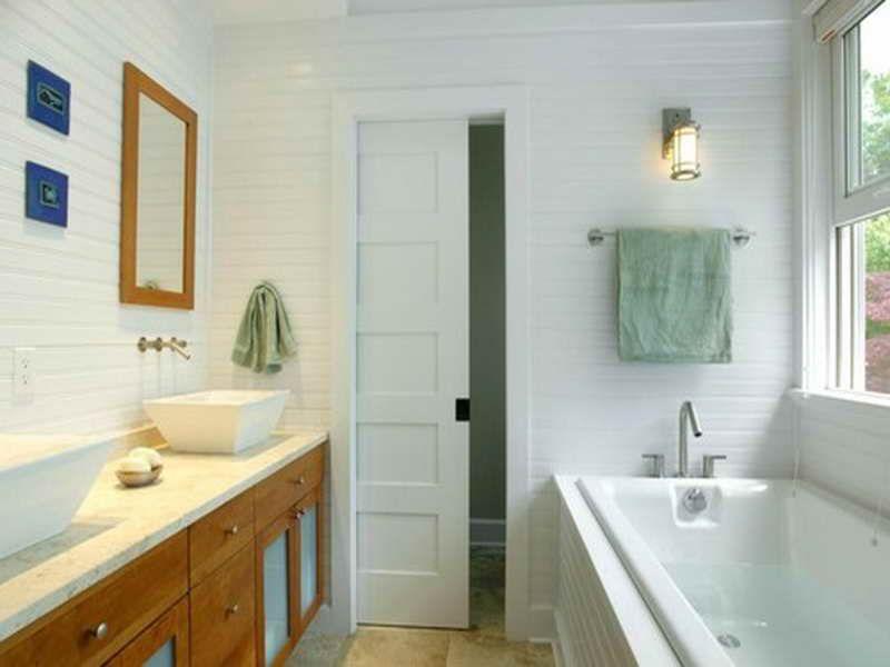 pocket door installation | Sliding Pocket Door Installation for Your  Bathroom
