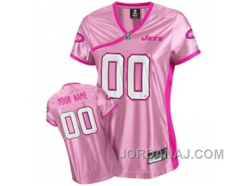 www.jordanaj.com ... CUSTOMIZED NEW YORK JETS JERSEY BE LUV D PINK ... 329a7b584