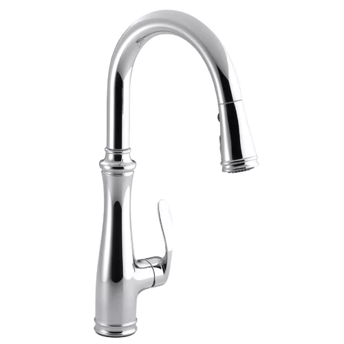 Bellera Pull Down Touch Single Handle Kitchen Faucet With