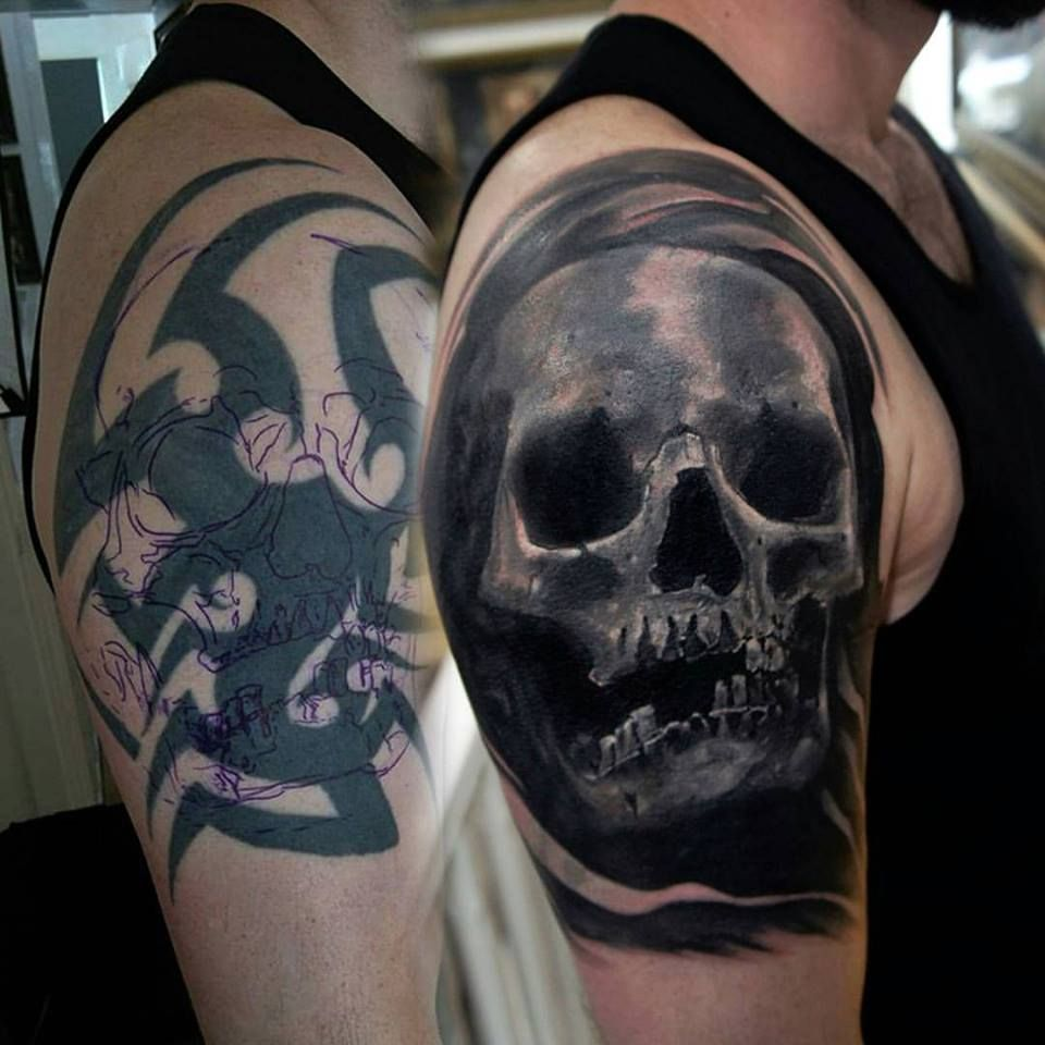 175 Unbelievable Cover Up Tattoo Ideas Before And After Cover Up Tattoos For Men Cover Up Tattoos Black Tattoo Cover Up