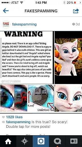 Do Not Download This App Very Dangeres Paranormal Facts Creepy Facts Funny Animal Memes