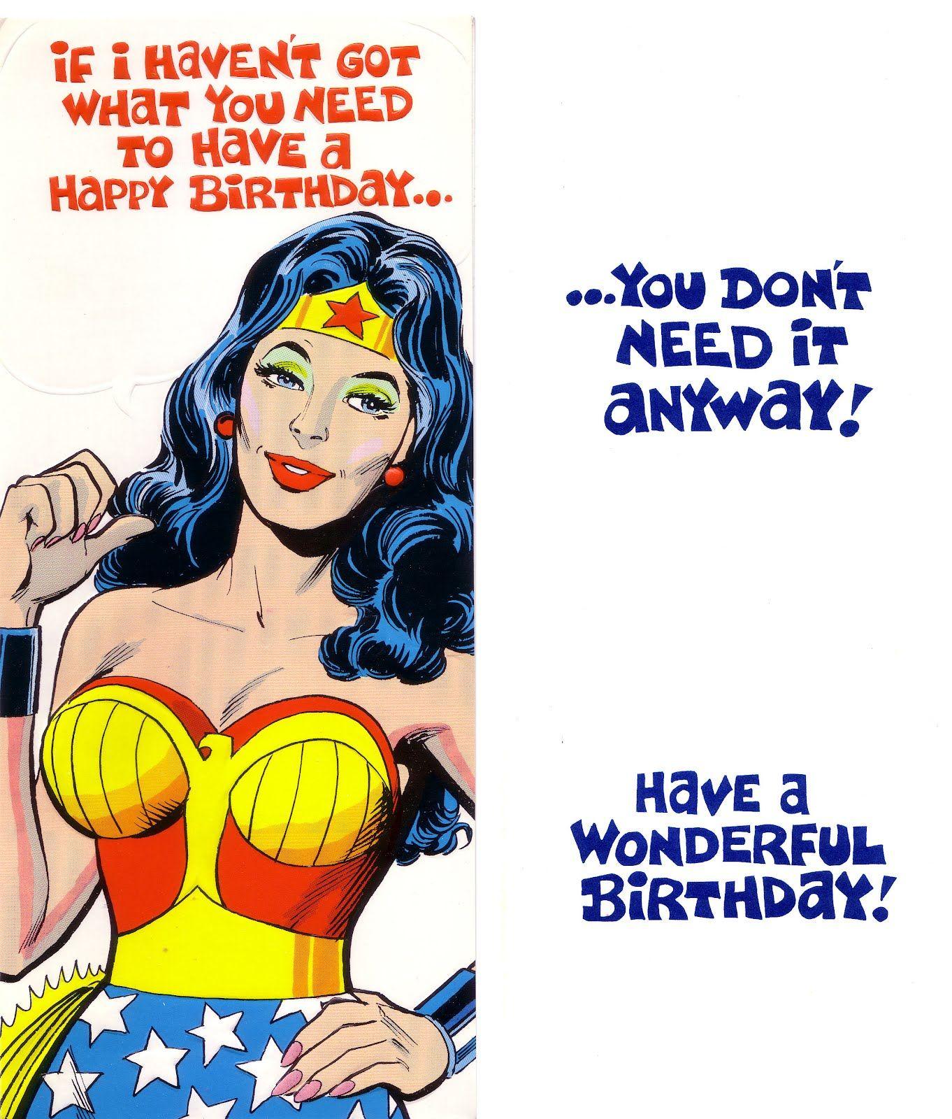 Wonder Woman Superman Images Gallery Printables – Comic Birthday Greetings