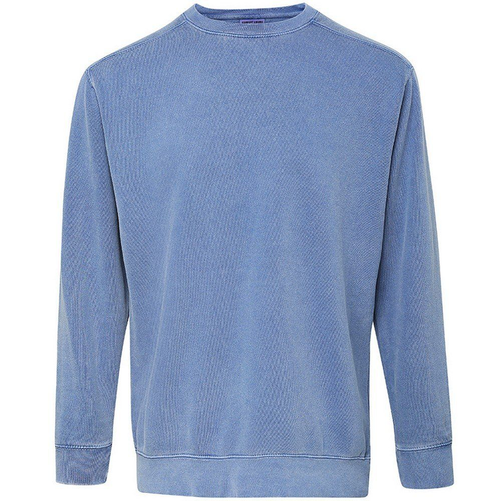4cce6bf3d82 Comfort Colors Mens Crew Neck Sweatshirt (3XL) (Blue Jean)  Amazon ...