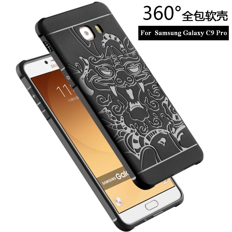New For Samsung Galaxy C9 Pro C9000 Case For Samsung C9 Pro Back Cover Cases Phone Anti-knock Armor Silicon Protection Bag Skin