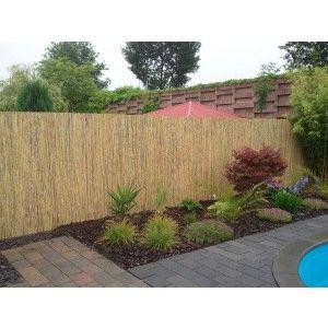 Bambusmatten Sichtschutzmatten Sichtschutz aus Bambus 2x5m