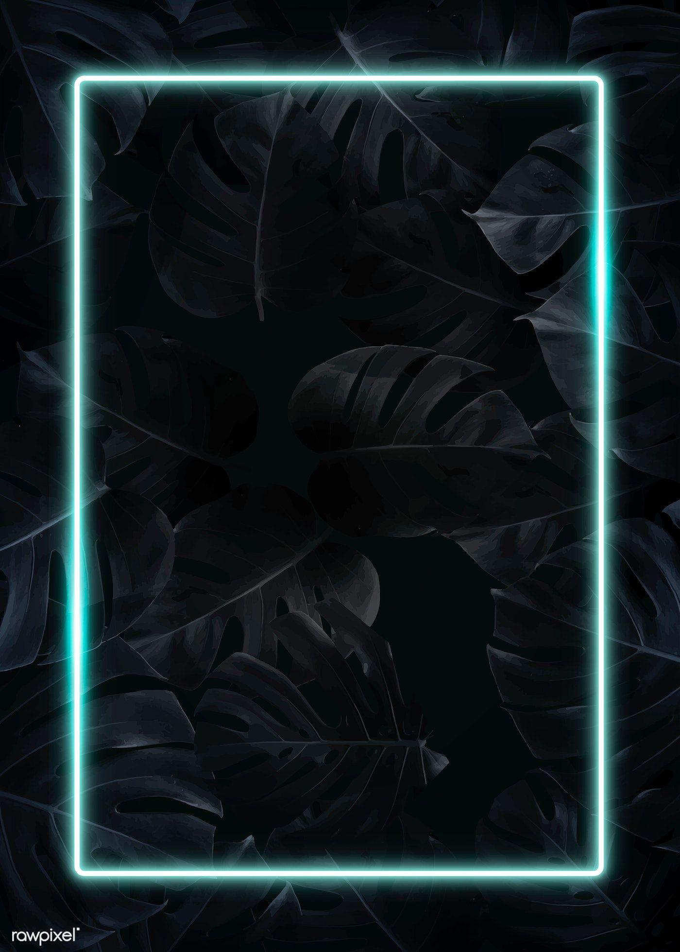 Black Neon Wallpaper IPhone