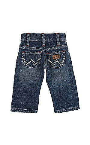 07360a3ee427 Wrangler Infant Boys Medium Wash Jeans