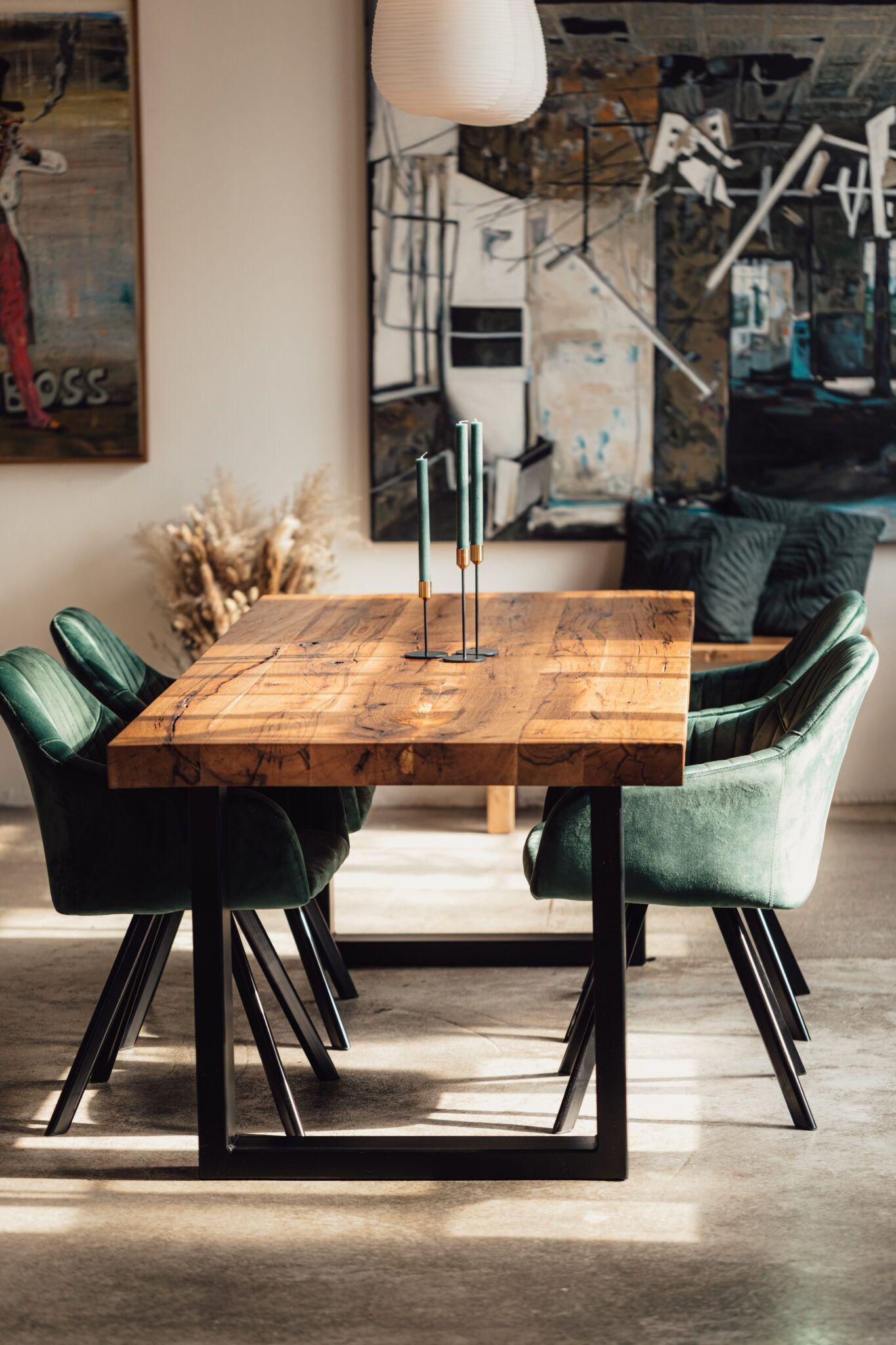 Tisch Zeus - Altholz – Tische & Möbel – Unikate nach Maß | dk MOEBELSCHMIEDE